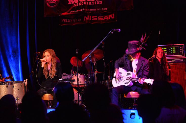 Lisa Marie Presley Michael Lockwood Photos: 14th Annual Americana Music Festival & Conference - Festival - Day 3