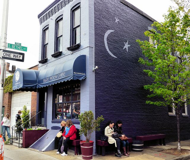 Blue Moon Cafe -  recommended by Guy Fieri from the Food Network channel