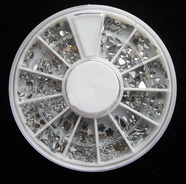 1-Sets Essential Popular 3D Nails Art Wheel Glitters Random Mixed Tool Kit Non-Toxic Primer DIY Style Mix Shapes Clear Rhinestones * Want to know more, click on the image.