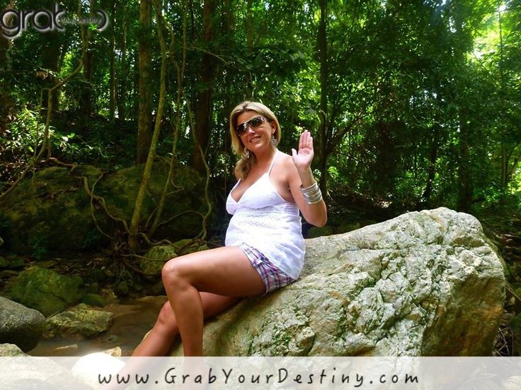 A lovely day at the waterfalls in Koh Samui, Thailand… #Travel #GrabYourDestiny #JasonAndMichelleRanaldi #KohSamui #Waterfalls #Thailand  www.GrabYourDestiny.com