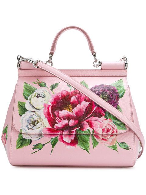 a64d99942cb4 Dolce & Gabbana Sicily Tote Bag | Bags bags bags | Bags, Bag ...