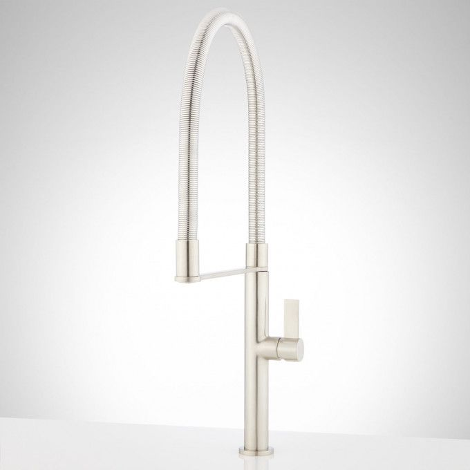 Bailey Single Hole Kitchen Faucet With Tall Spring Spout
