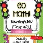 "Get ""focused"" on math for the new school year with this Go Math! focus wall set! Thanks to requests from a Pinterest picture of my focus wall (tha... @lulu8013"
