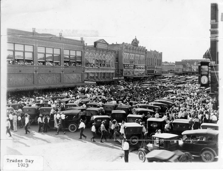 4 Trades Day - Main Street - Taylor, Texas 1928
