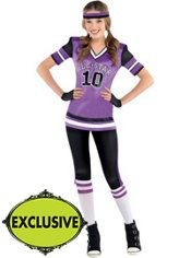 teen girls all star cutie football costume - Halloween Costume Football