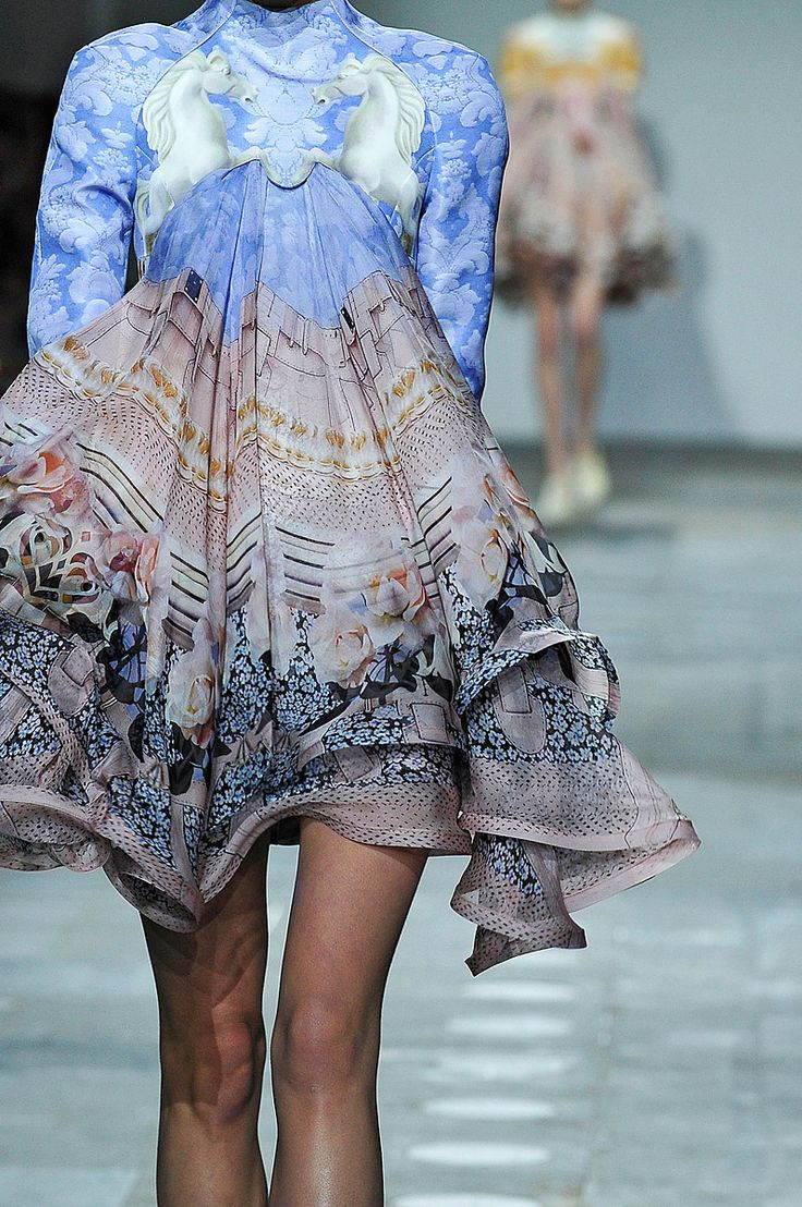 Mary Katrantzou, Fall 2012 RTW, Runway
