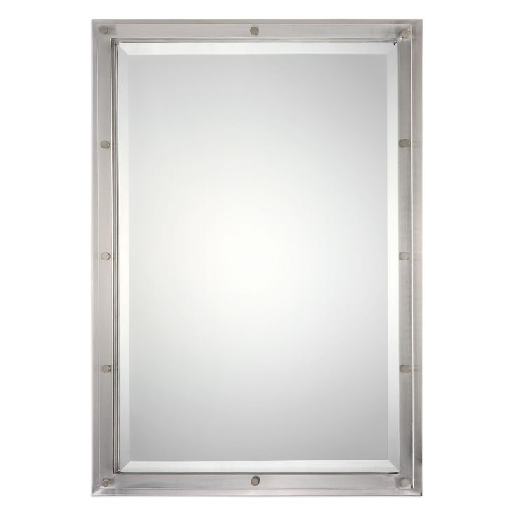 Manning Brushed Nickel Mirror by Uttermost