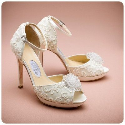 Love The P Toe Wedding Shoes