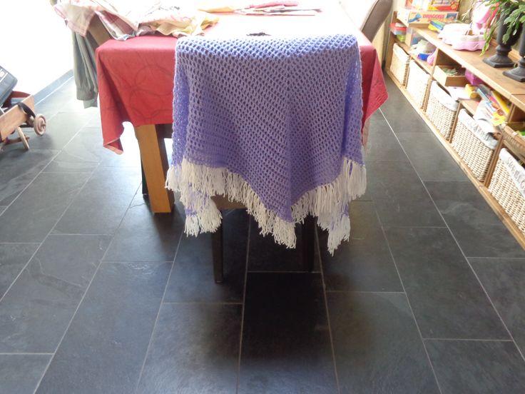 omslagdoek voor de oudste.