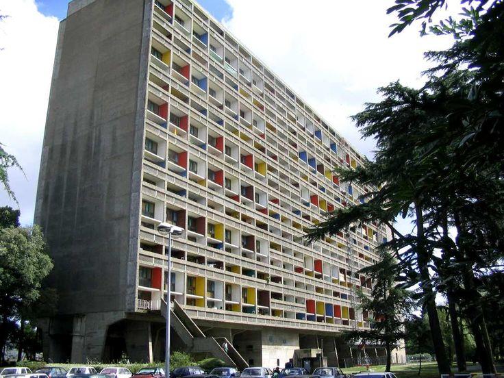 Nantes. Cité le Corbusier la cité radieuse à Rezé-les-Nantes