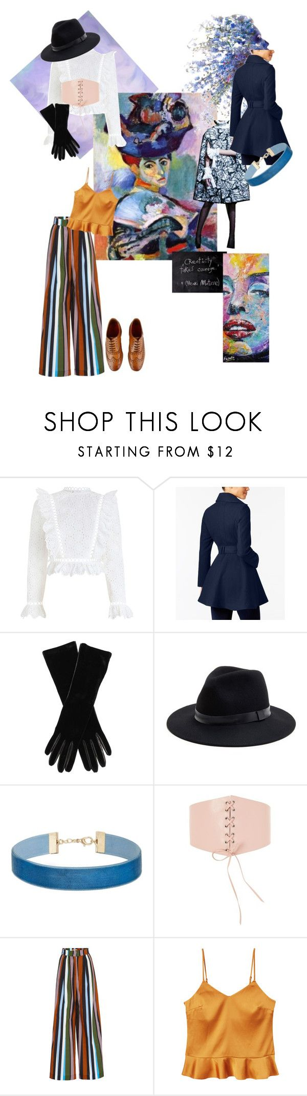 Matisse by iselinln on Polyvore featuring Zimmermann, MANGO, INC International Concepts, Topshop, Grenson, Miss Selfridge, Sole Society and Armani Collezioni