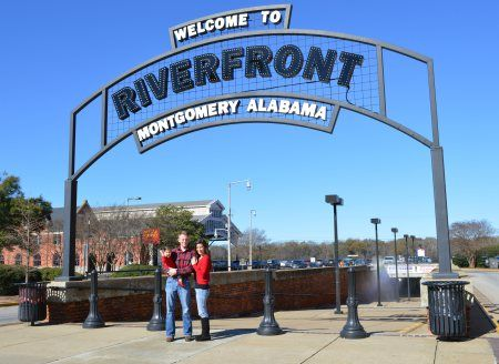 ~Montgomery, Alabama's riverfront~  Don't miss Union Station and just imagine F. Scott Fitzgerald and Zelda disembarking from a train and sauntering through the station in days gone by....listen for their echo.
