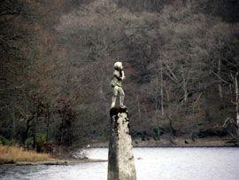 Wee Peter Statue Loch Lomond