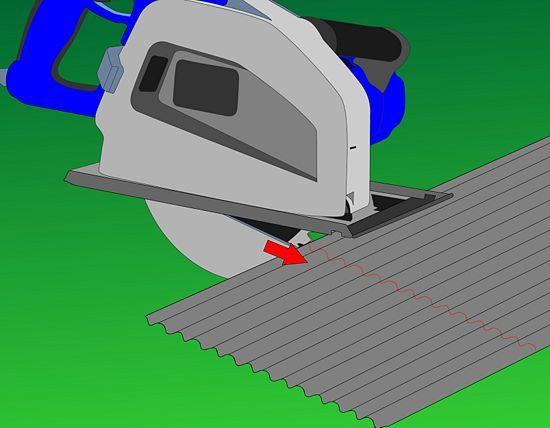cutting corrugated metal with jigsaw - Google Search