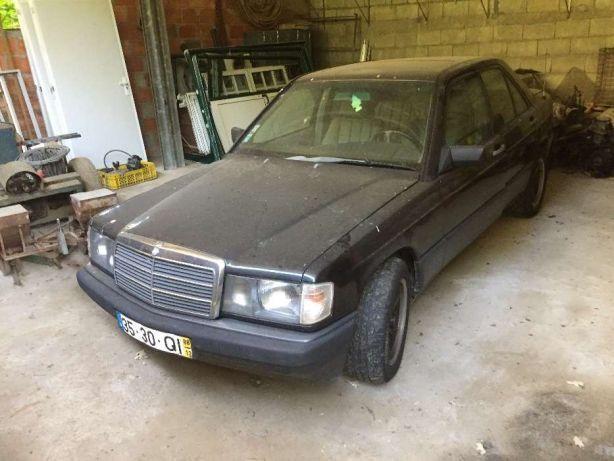 Mercedes 190 d preços usados