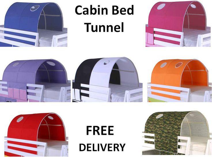 Cabin Bed Mid Sleeper Bunk Loft * Tunnel Tent Only * in Home, Furniture & DIY, Children's Home & Furniture, Furniture | eBay
