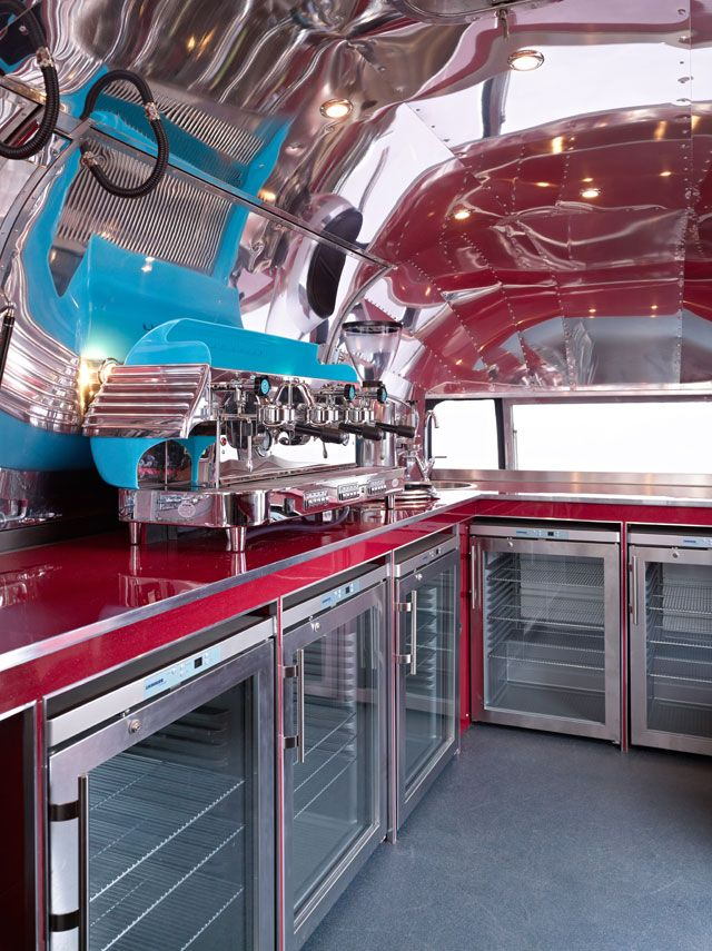 The Cafe Airstream Deluxe catering unit is now finished and heading out into the world. The new owners are currently building a website for the business so we'll update you with details of that as soon as we have them and we'll let you know where the Cafe is going to be out and about at events next year so you can go and check it out.