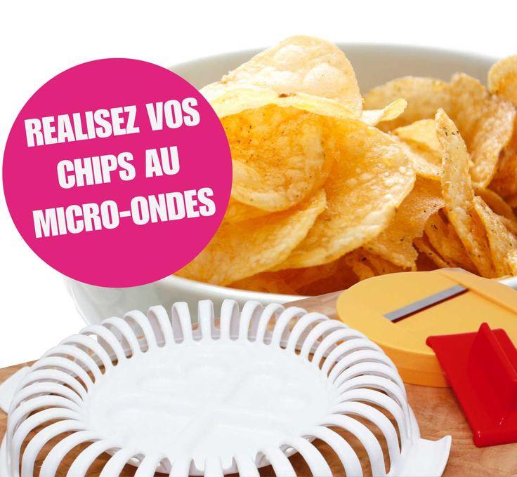 utilisation chips maker - chips au micro-ondes | ardtime - ardtime