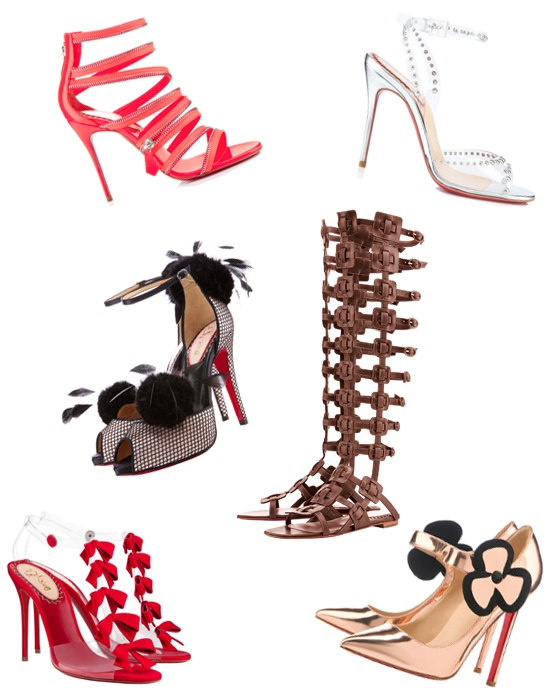 Kick Up Your Heels In Christian Louboutin's 20th Anniversary Capsule Collection: Fab Shoes, Girls, Anniversary Capsule, Louboutin Shoeheaven, Anniversaries, Only Shoes, 20Th Anniversary