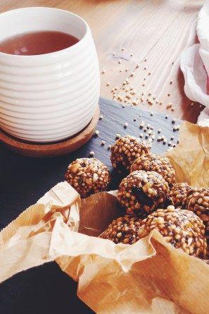 Quinoové kuličky do kapsy