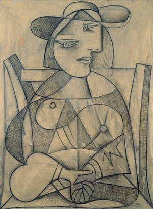 Picasso Woman With Joined Hands