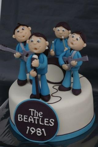 Beatles Cake........Too cute to eat~
