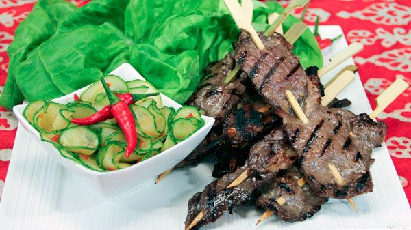 These simple and super flavourful bites by Chef Joshna Maharaj are fresh and rich at the same time. Serves 6 as appetizers Ingredients 3 lemongrass stalks, bottom 4 inches only, pounded and minced 3 ½ tbsp fish sauce 2 tbsp...