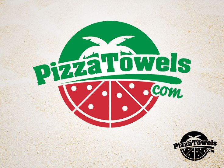 Logo design for Pizza Towels by Collin van den Bos