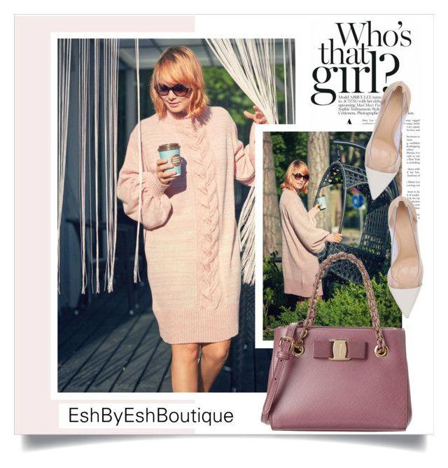 """""""EshByEshBoutique"""" by amra-mak ❤ liked on Polyvore featuring Salvatore Ferragamo, Gianvito Rossi and EshByEshBoutique"""