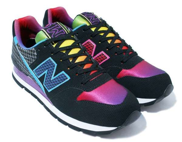 Rainbow Sneakers - Atmos and New Balance CM996 Sneakers Are Like a Spectrum