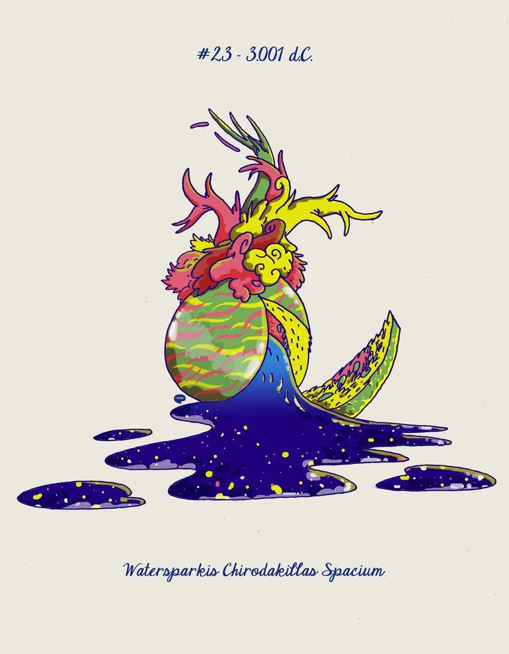 Watersparking Chirodakillas Spacium