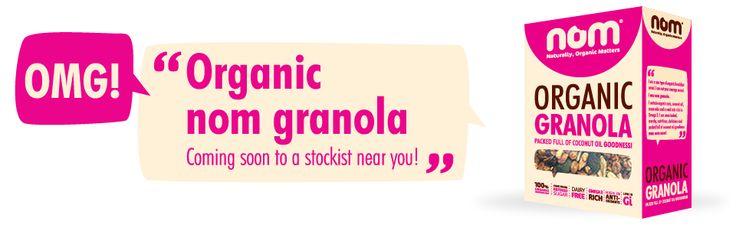 Organic Nom Granola