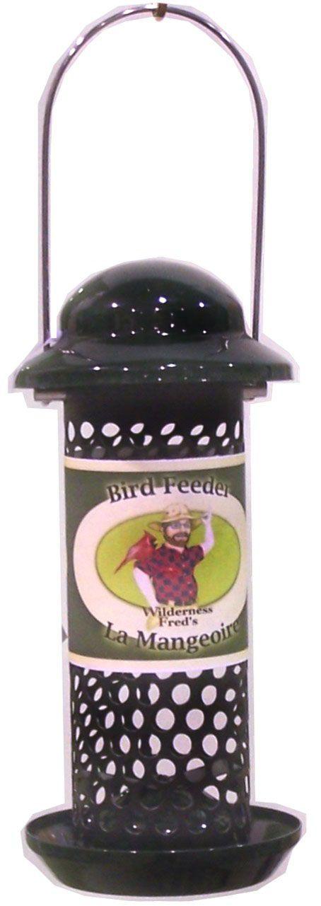 "BPF-28 Metal Peanut and sunflower bird feeder 10"" Peanut feeder with tray Woodpecker Friendly!"