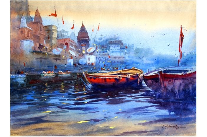 Pin By Cosmo Art Gallery On Paintings New Art Indian Art