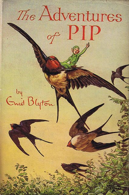 THE ADVENTURES OF PIP, by ENID BLYTON. Sampson Low , Marston & Co. Cover art by Raymond Shephard