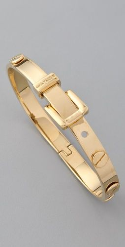 Michael Kors gold buckle bracelet. Might have to make this my next MK purchase soon.