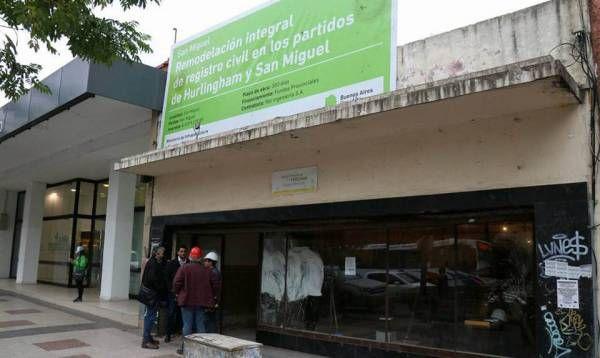 Avanza la renovación total del Registro Civil de San Miguel