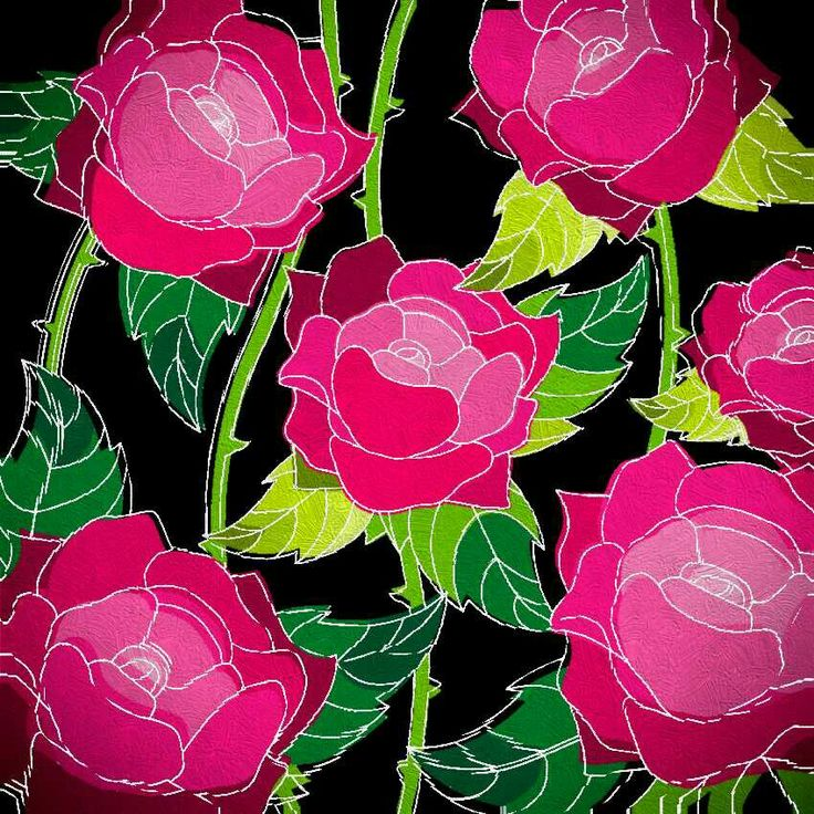 Roses with Rippled filter and many more edits..