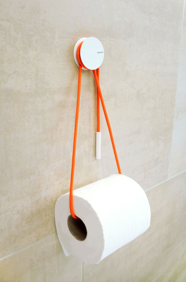 DIABOLO TOILETRULLEHOLDER - ORANGE by Vandiss