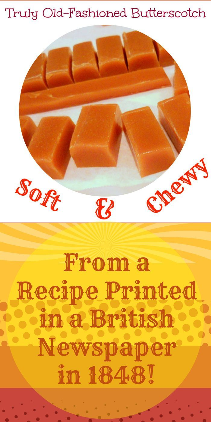 This very simple, scalable recipe contains just four ingredients. Make sure you use a mild molasses such as Grandma's brand or the candy will be overpoweringly molassesy. The finished butterscotch is a beautiful balance of butter, molasses and caramel with enough salt added to really make the flavor shine. If you think you don't like butterscotch, this recipe is sure to change your mind!