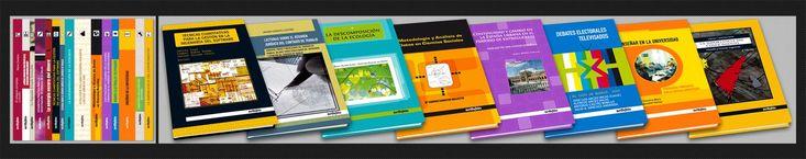 { Libros Técnico-Científicos } Cubiertas de libros destinados principalmente al sector educativo en España.