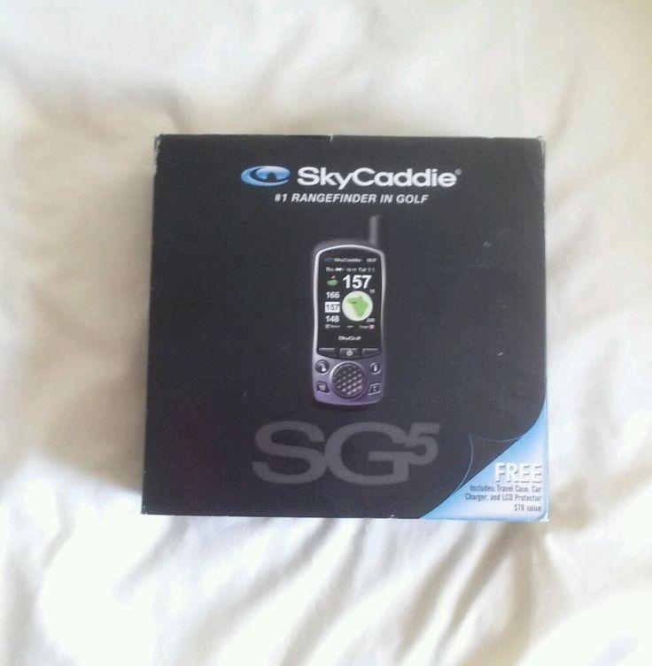 SkyGolf SkyCaddie SG5 GPS Golf Course Golfing Range Finder Case Extra Battery  #SkyGolf