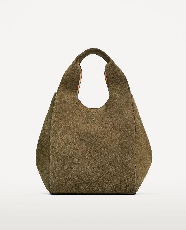 Saco pele (toupeira): ZARA (59,95€)
