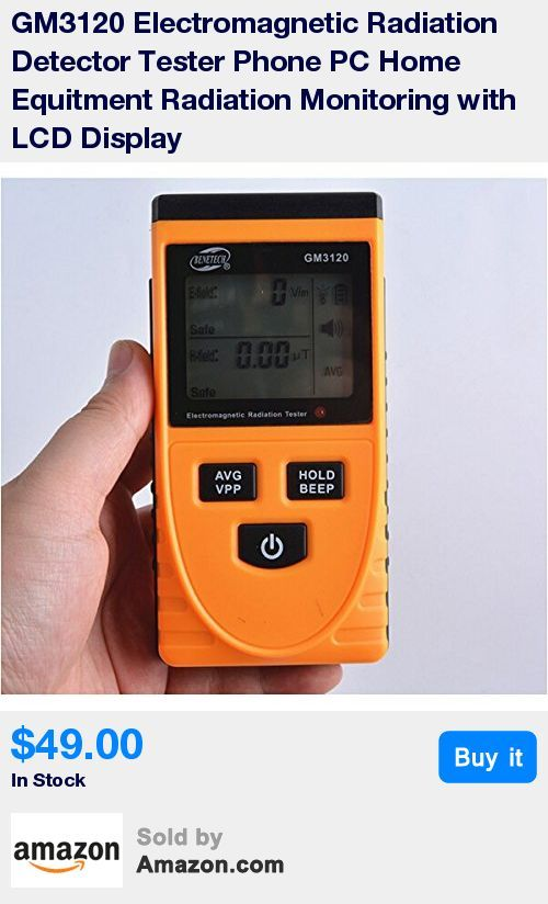 Description: GM3120 Electromagnetic Radiation Detector Tester Phone PC Home Equitment Radiation Monitoring Electric Field Radiation and Magnetic Field Dual-mode with LCD Display This meter can test electric field radiation and magnetic field emission to reach the optimal test result. It is used to test and learn electromagnetic radiation situation indoor and outdoor. Equipped with a built-in electromagnetic radiation sensor, which can display the radiation value on the LCD digital display a