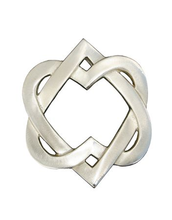 gaelic heart | link is to a door knocker, but the symbol would make an awesome tat!