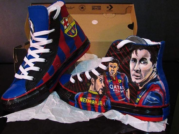 Who's your favorite sports team? Whut team whut you rep on your feet in sum 1 of a kind custom designed kicks?  Fresh out Tha Box!!! #messi #neymar #suarez #fcb #barcelona #Soccer #unicef #sports #international #worldwide #worldcup  #futbol #handpainted #ArtLife #SupportTheArts #Converse #AllStars #portraits #Drawing #painting  #Restoration and #watersealed #DMVArtist #customshoes #customkicks #artwork  #freshkicksdaily #sneakerheads  Serious inquiries contact me at ADArtWorx@gmail.com…