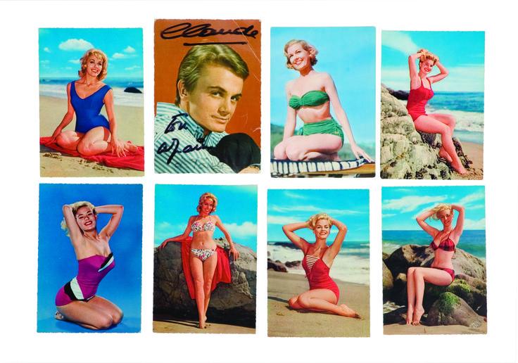 1960 - Les cartes-postales de Pin-Up des années soixante, collection privée © Solo-Mâtine