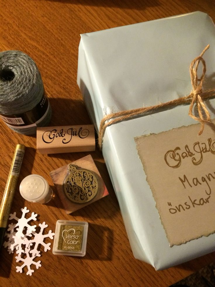 All you need for gift wrapping #giftwrapping #scrapbooking