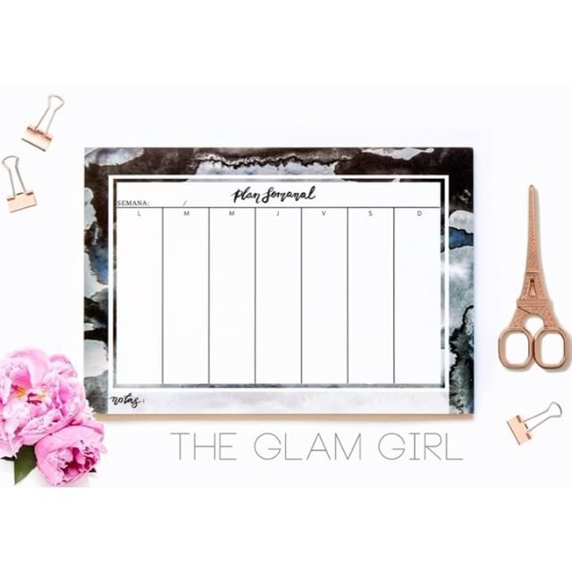 Planes Semanales de Jessyland para cada tipo de personalidad #planners #giftguide #regalos