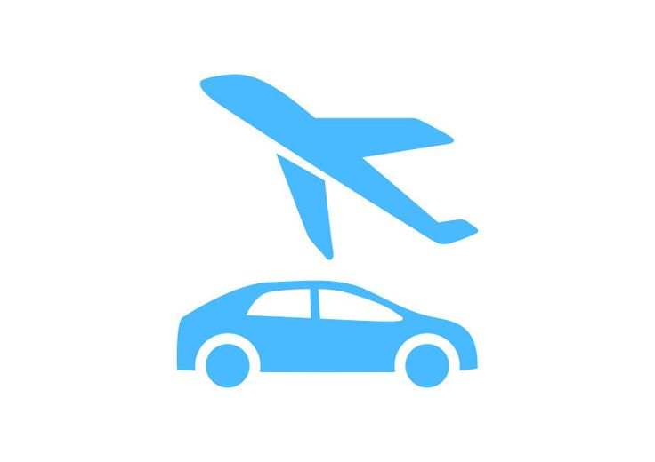 Airport Transfer Free Vector Icon